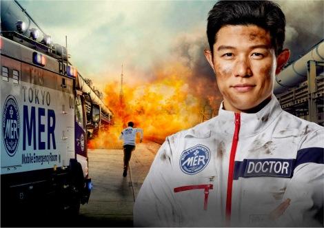 鈴木亮平が主演を務める『TOKYO MER〜走る緊急救命室〜』 (C)TBS
