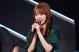 HKT48劇場で卒業を発表する宮脇咲良(C)Mercury