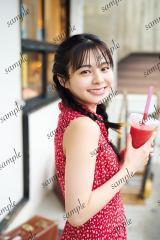 NGT48本間日陽1st写真集『ずっと、会いたかった』HMV&BOOKS online限定ポストカード(沖縄デート編)