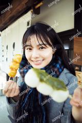 NGT48本間日陽1st写真集『ずっと、会いたかった』タワーレコードオンライン限定ポストカード(村上街歩き編)