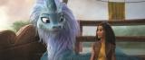 """伝説の""""最後の龍""""シス—とラーヤ=映画『ラーヤと龍の王国』(デジタル配信中)MovieNEXは5月21日発売 (C)2021 Disney"""