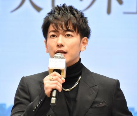 映画『るろうに剣心 最終章 The Beginning』10thアニバーサリーイベントに出席した佐藤健 (C)ORICON NewS inc.