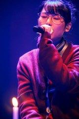 『MTV Unplugged』に出演するBiSHのハシヤスメ・アツコ photo by sotobayashi kenta
