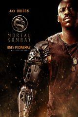 ジャックス(メッカド・ブルックス)=映画『モータルコンバット』(6月18日公開)(C)2021 Warner Bros. Entertainment Inc. All Rights Reserved