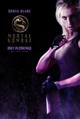 ソニア・ブレイド(ジェシカ・マクナミー)=映画『モータルコンバット』(6月18日公開)(C)2021 Warner Bros. Entertainment Inc. All Rights Reserved