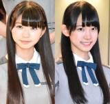 22/7(左から)涼花萌、海乃るり (C)ORICON NewS inc.