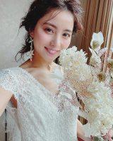 石川恋、美しすぎる花嫁姿