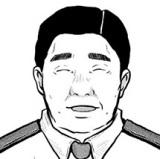 7月スタートの日本テレビ系連続ドラマ『ハコヅメ 〜たたかう!交番女子〜』でムロツヨシが演じる伊賀崎秀一原作イラスト (C)泰三子/講談社