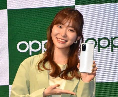 『OPPO 2021』の新CM発表会に出席した指原莉乃 (C)ORICON NewS inc.