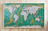 レゴ史上最大、11,695ピースで作る世界地図『レゴ(R)ワールドマップ』