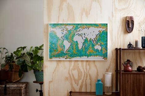 『レゴ(R)ワールドマップ』