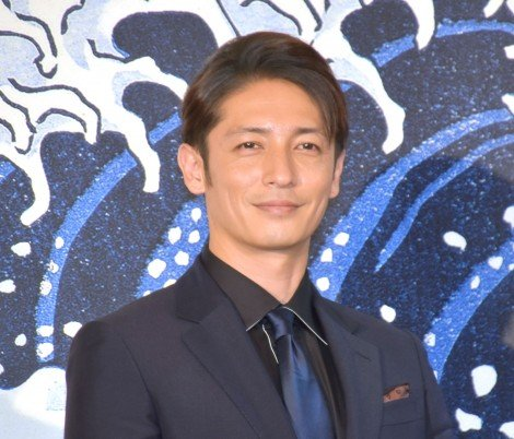 祖父が100歳になったという玉木宏=映画『HOKUSAI』公開直前ヒット祈願報告会イベント (C)ORICON NewS inc.
