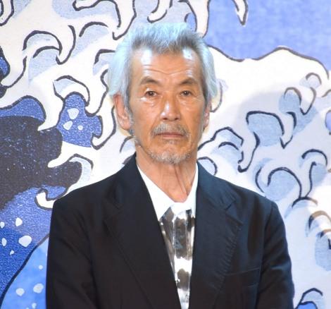 映画『HOKUSAI』公開直前ヒット祈願報告会イベントに参加した田中泯 (C)ORICON NewS inc.