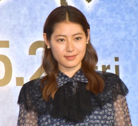 映画『HOKUSAI』公開直前ヒット祈願報告会イベントに参加した瀧本美織 (C)ORICON NewS inc.