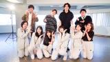ハロプロダンス学園メンバー(前列)にs**t kingzのkazukiとNOPPOが振付(C)ダンスチャンネル