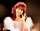 『AKB48峯岸みなみ卒業公演』を終え取材に応じた峯岸みなみ (C)ORICON NewS inc.