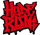 HYDEのライブ等で登場したNEO TOKYOの世界を駆け抜けるスマホゲーム『HYDE RUN』ロゴ