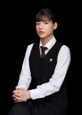 『シェフは名探偵』に出演する石井杏奈(C)「シェフは名探偵」製作委員会