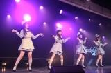お披露目された新ユニットCloudyCloudy=『NGT48 6thシングルカップリング中井りかユニット発表特番』より