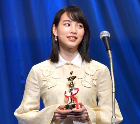 『私をくいとめて』で『第30回日本映画批評家大賞』主演女優賞を受賞したのん (C)ORICON NewS inc.