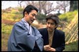 「汚れた王将」(左から)坂東八十助(坂東三津五郎さん)、田村正和さん(C)フジテレビ