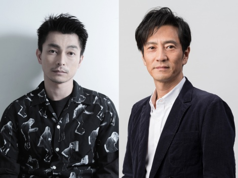 遠藤雄弥(左)と津田寛治(右)がダブル主演する映画『ONODA(原題)』2021年秋、全国公開