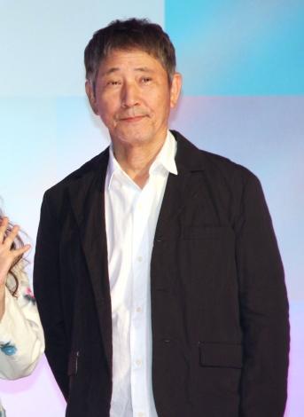 映画『Arc アーク』の完成報告会に登場した小林薫 (C)ORICON NewS inc.