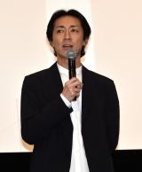 映画『さよなら私のクラマー ファーストタッチ』完成記念イベントに登壇したナインティナイン・矢部浩之 (C)ORICON NewS inc.