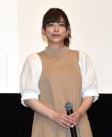 映画『さよなら私のクラマー ファーストタッチ』完成記念イベントに登壇した島袋美由利 (C)ORICON NewS inc.
