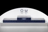 東京2020大会の表彰式で使用される表彰台