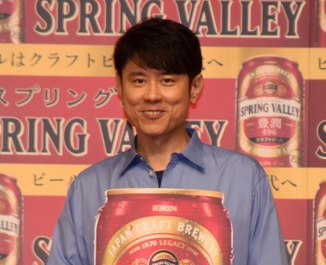 『「ビールはクラフトビールの時代へ」祝杯式』に参加したネプチューン・原田泰造 (C)ORICON NewS inc.