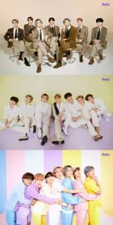 """デビュー8周年記念の『2021 BTS FESTA』がスタート。恒例の""""家族写真""""を公開したBTS (C)BIGHIT MUSIC"""