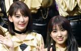 2年半ぶりにHKT48のライブに復帰した宮脇咲良と矢吹奈子(写真は2019年1月撮影) (C)ORICON NewS inc.