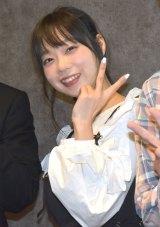 映画『グレーゾーン』の公開初日舞台あいさつに参加した青山ひかる (C)ORICON NewS inc.