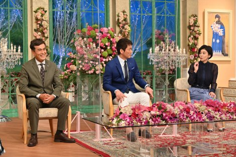 『徹子の部屋』に登場する(左から)石原良純、長嶋一茂、高嶋ちさ子が登場(C)テレビ朝日