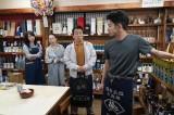 5日放送『コントが始まる』第8話に出演する木村文乃、梅沢昌代、金田明夫、仲野太賀 (C)日本テレビ