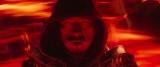 冥界の炎に包まれるハンゾウ(真田広之)=映画『モータルコンバット』(6月18日公開)(C)2021 Warner Bros. Entertainment Inc. All Rights Reserved