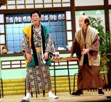 (左から)明石家さんま、間寛平 (C)ORICON NewS inc.