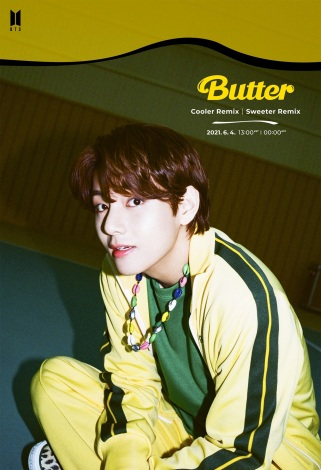 V=「Butter」リミックス音源「Sweeter」と「Cooler」バージョンを発表したBTS photo by BIGHIT MUSIC