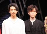 (左から)少年忍者の織山尚大、青木滉平(C)ORICON NewS inc.
