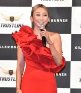 プロデュースサプリメント『KILLER BURNER』発売記念イベントに出席した倖田來未 (C)ORICON NewS inc.