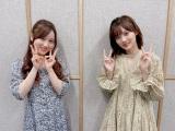 星野みなみ&山下美月が『ONE MORNING』にコメント出演(C)TOKYO FM