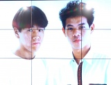 FUJIWARAの若手時代の貴重な写真=『Dクリニック』新CM発表会 (C)ORICON NewS inc.