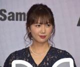 サミーの新規事業『m』に関する発表会に参加した永島聖羅 (C)ORICON NewS inc.