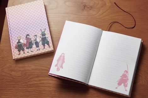 『MORE』増刊特別付録「柱集合ノートBOOK」裏表紙 (C)吾峠呼世晴/集英社・アニプレックス・ufotable