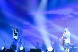 いきものがかり3人でのラストライブは横浜アリーナで3時間15分にわたって20曲を熱演=『いきものがかりの みなさん、こんにつあー!! THE LIVE 2021!!!』ファイナルより Photo by 岸田哲平