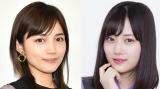 川口春奈&山下美月 (C)ORICON NewS inc.