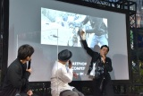 『スマートフォン映画作品部門 supported by Sony』新設記念OPトークイベント「Creators' Junction 2021」のオープニングトークイベントの模様 (C)ORICON NewS inc.