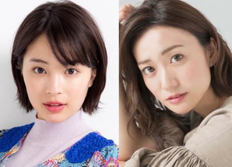 (左から)広瀬すず(photo:松ノ下聖司)、大島優子(photo:草刈雅之) (C)oricon ME inc.