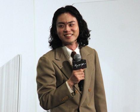 映画『キャラクター』の初日舞台あいさつに登場した菅田将暉 (C)ORICON NewS inc.